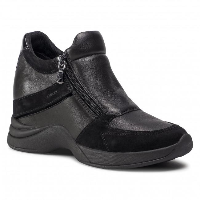 Trainers GEOX - D Armonica B D04HVB 08522 C9999 Black