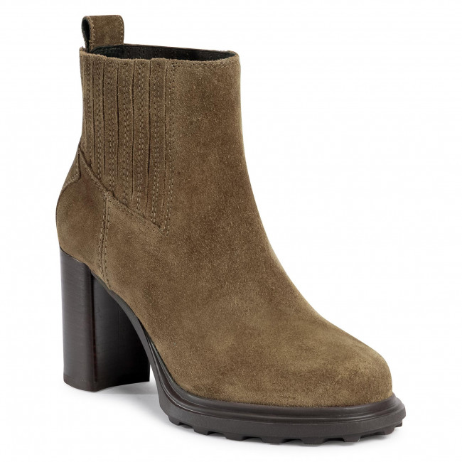 Ankle boots GEOX - D Salice High B D04LFB 00023 C3005 Olive