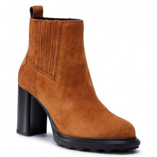 Ankle boots GEOX - D Salice High B D04LFB 00023 C6001  Cognac