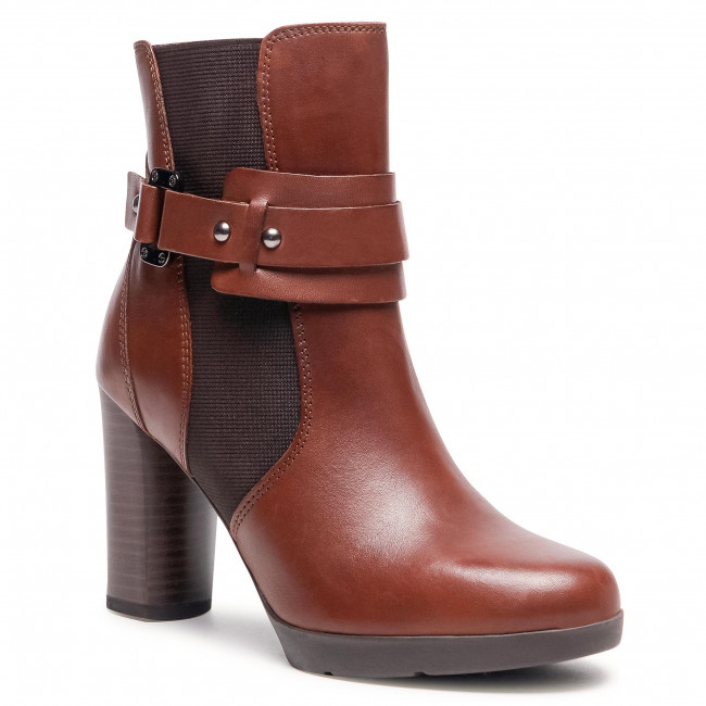 Ankle boots GEOX - D Anylla H. B D04LMB 00043 C0013 Brown