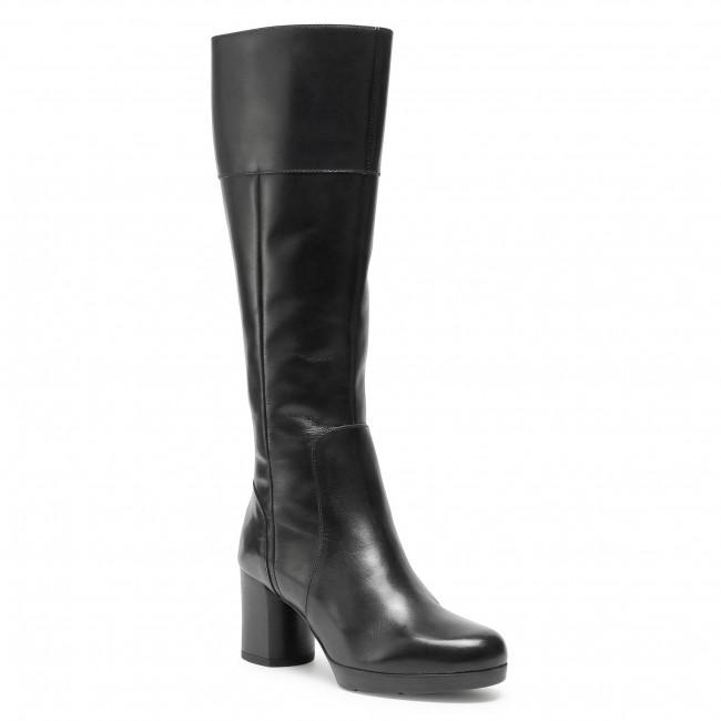Knee High Boots GEOX - D Anylla M. D D04LND 00043 C9999 Black