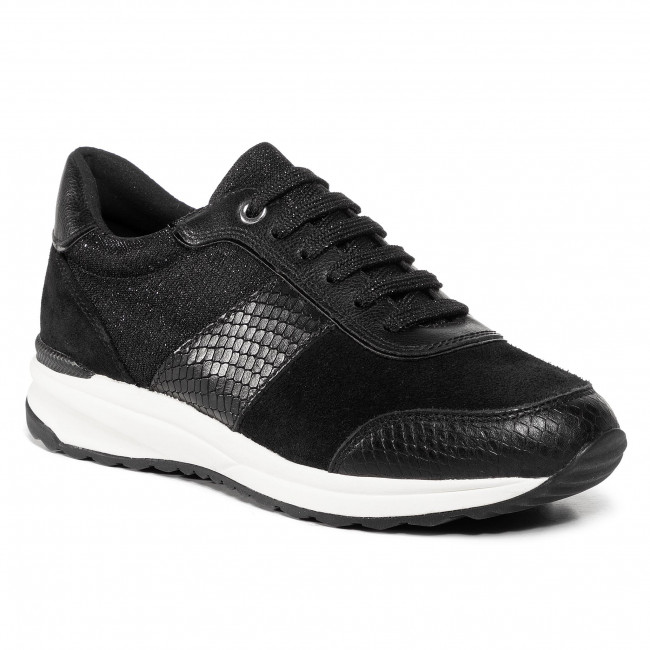 Trainers GEOX -  D Airell A D942SA 02247 C9999 Black
