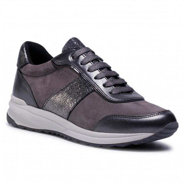 Trainers GEOX - D Airell A D942SA 022NF C9002 Dk Grey