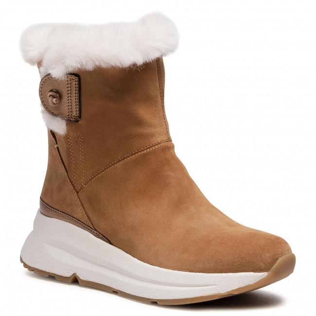 Ankle boots GEOX - D Backsie B Abx C D94FPC 022BC C5FB6 Camel/Lt Bronze