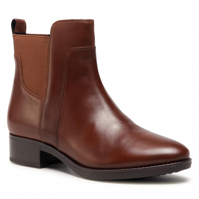Ankle boots GEOX - D Felicity G D94G1G 00043 C0013 Brown