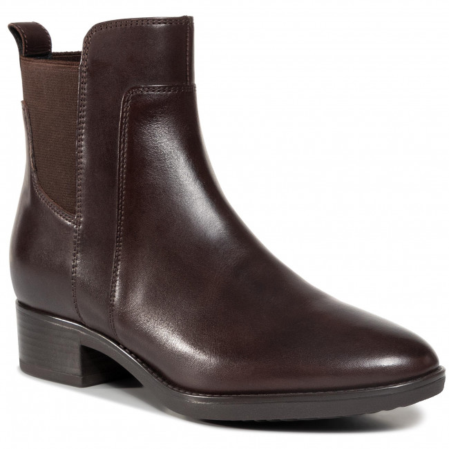Ankle boots GEOX -  D Felicity G D94G1G 00043 C6010  Coffee