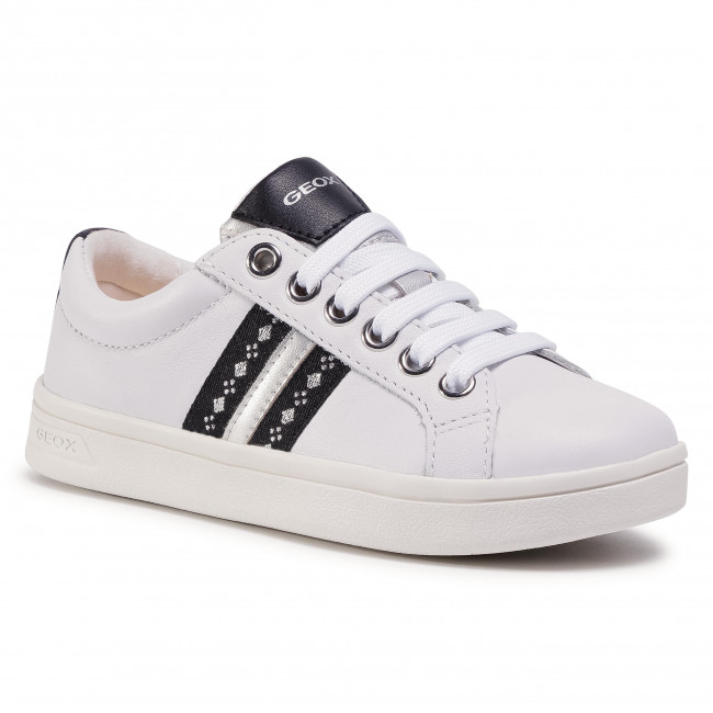 Trainers GEOX - J Djrock G.H J024MH 00085 C1000 S White