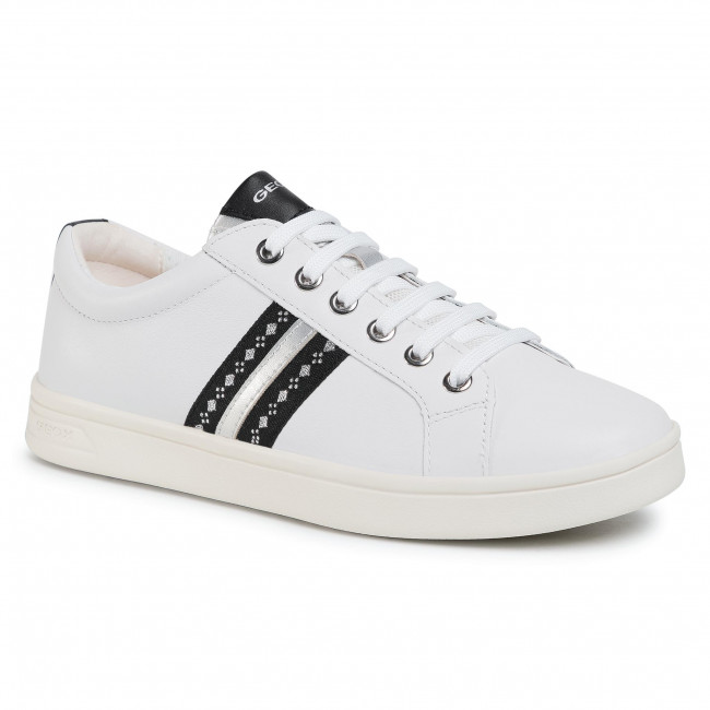 Trainers GEOX - J Djrock G. H J024MH 00085 C1000 D White