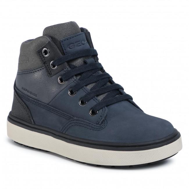 Boots GEOX - J Mattias B Abx A J040DA 032CQ C0718 S Navy/Dark Grey