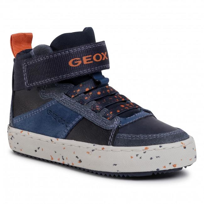 Trainers GEOX - J Alonisso B. C J042CC 022BU C0659 Navy/Orange