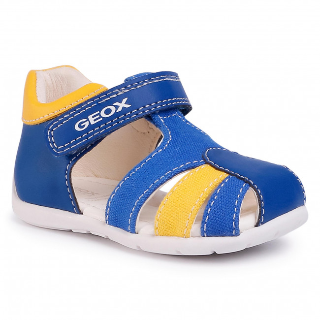 Sandals GEOX - B Elthan B. C B021PC 05410 C0797 Royal/Yellow