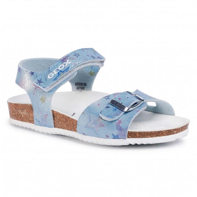 Sandals GEOX - J Adriel G. C J028MC 000QD C4016 S Sky