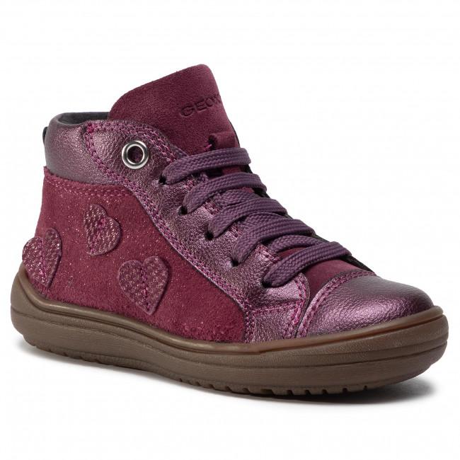 Boots GEOX - J Hadriel G. B J047VB 077AJ C8017 M Prune