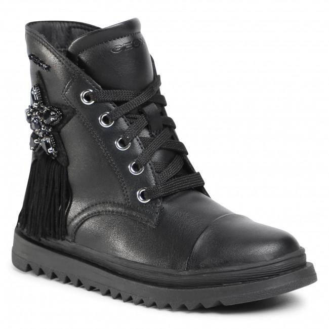 Knee High Boots GEOX - J Gillyjaw G. C J047XC 000BC C9997 S Black