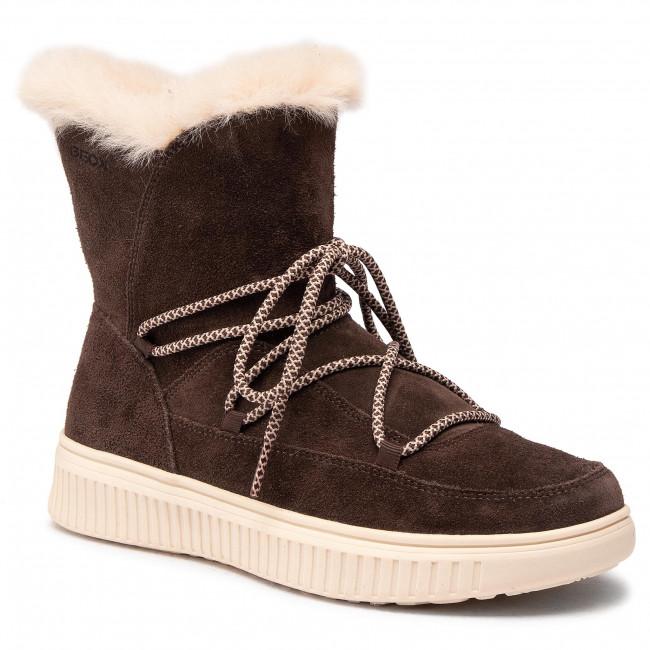 Knee High Boots GEOX - J Discomix G. B J047YB 00022 C6004 D Chestnut