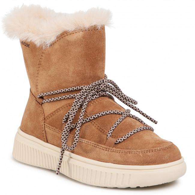 Knee High Boots GEOX - J Discomix G. B J047YB 00022 C6627 S Whisky