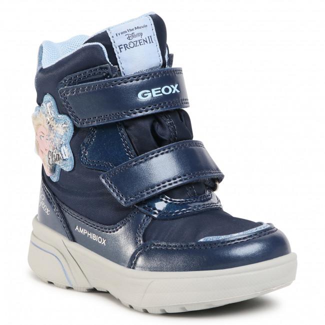 Snow Boots GEOX - J Sveggen G.B Abx A J048AA 0FUNF C4231 M Navy/Sky
