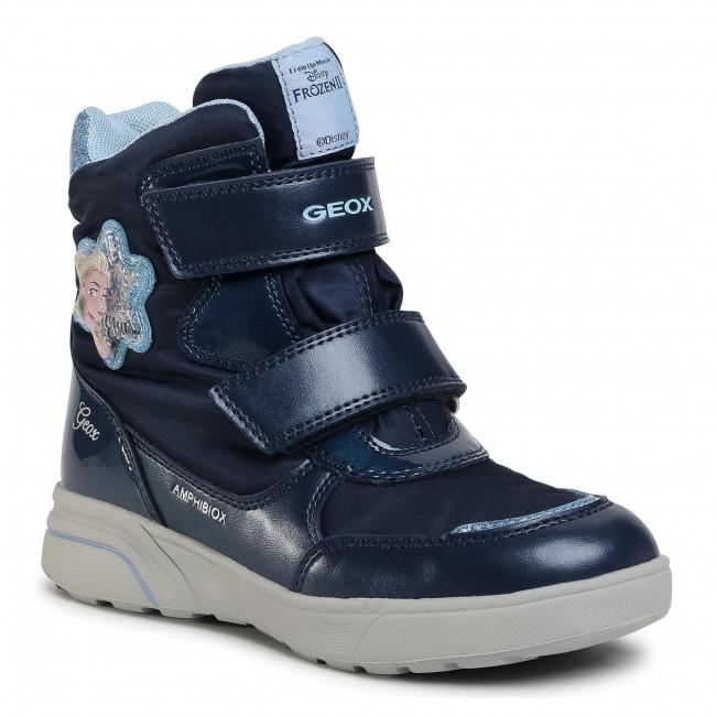 Snow Boots GEOX - J Sveggen G.B Abx A J048AA 0FUNF C4231 S Navy/Sky