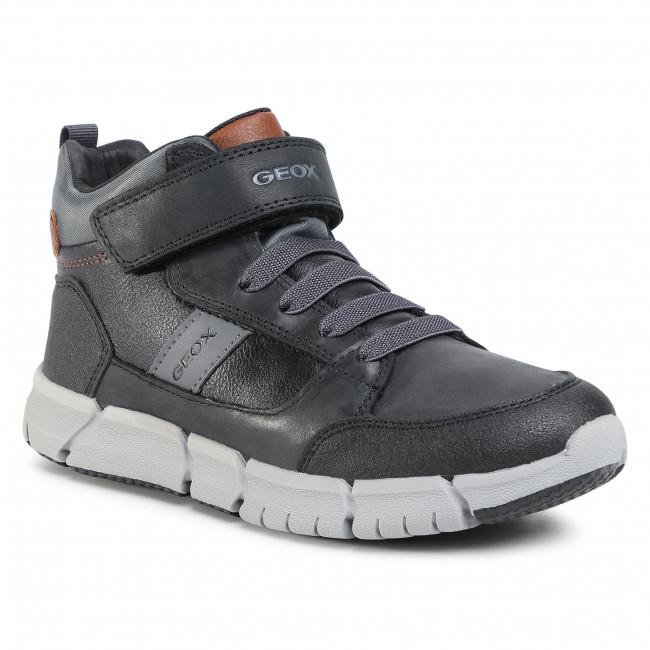 Boots GEOX - J Flexyyper B. B J049BB 0BUCL C0017 D Black/Grey