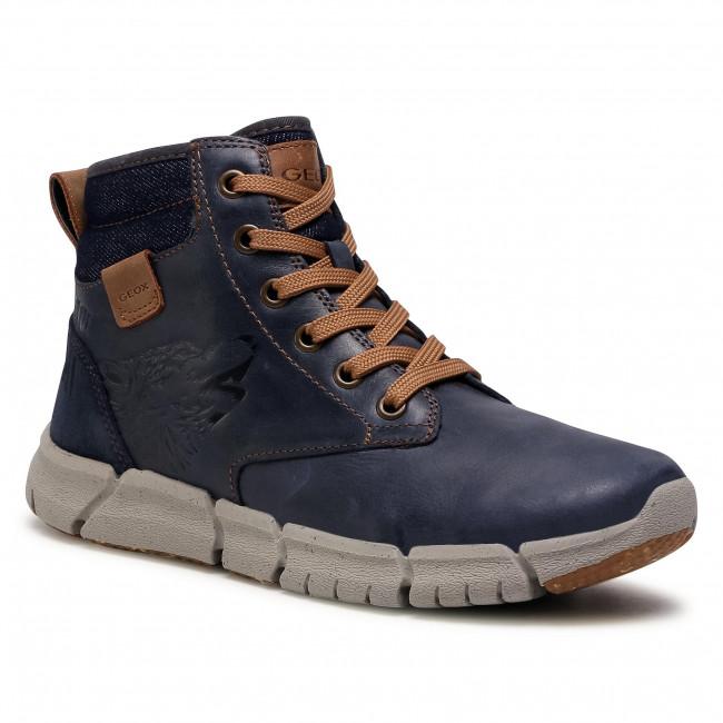 Boots GEOX - J Flexyper B. F J049BF 0CL22 C4002 D Navy
