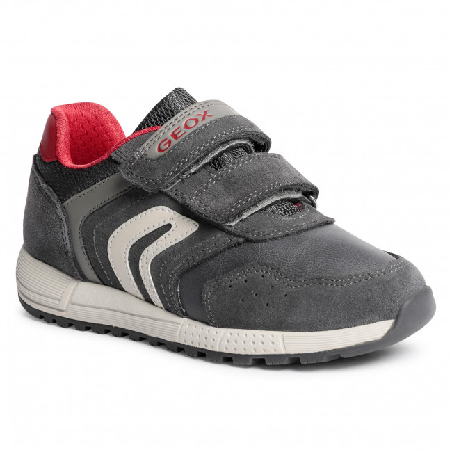 Trainers GEOX - J Alben B. E J049EE 022BC C0051 S Grey/Red