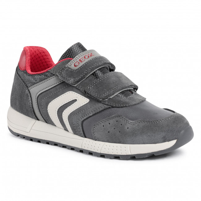 Trainers GEOX - J Alben B. E J049EE 022BC C0051 D Grey/Red