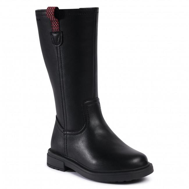 Knee High Boots GEOX -  J Eclair G. C J049QC 000BC C9999 M Black