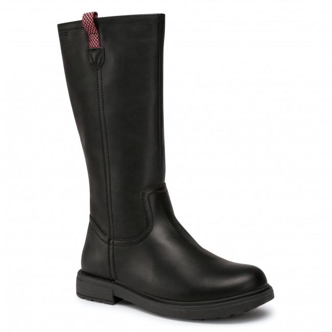 Knee High Boots GEOX - J Eclair G. C J049QC 000BC C9999 S Black