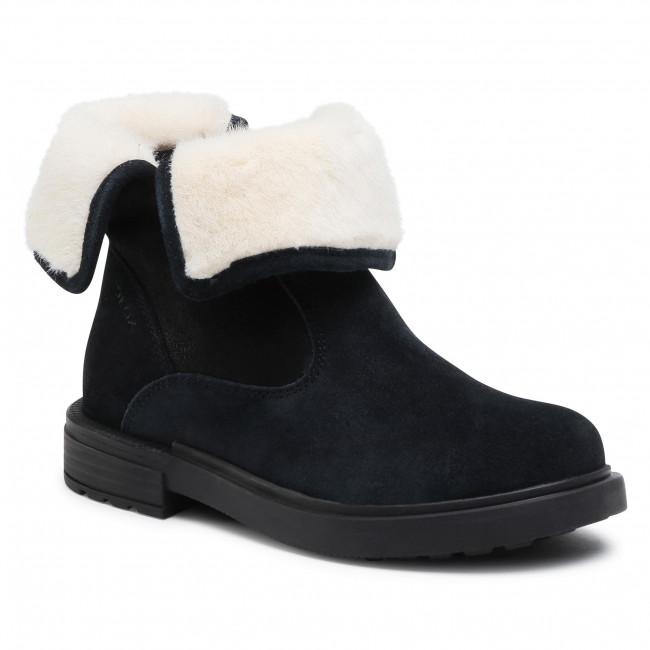 Knee High Boots GEOX - J Eclair G. K J049QK 02277 C9999 S Black