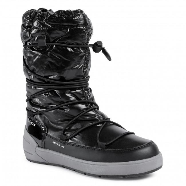 Snow Boots GEOX - J Sleigh G. B Abx A J049SA 0LVBC C9999 D Black
