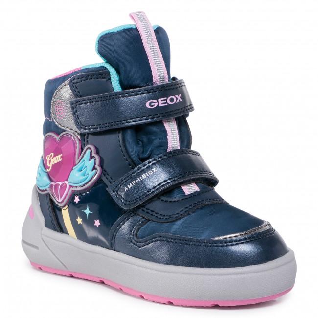 Snow Boots GEOX - J Sleigh G. B Abx C J049SC 0NFFU C4268 M Navy/Fuchsia