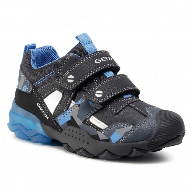 Trainers GEOX -  J Buller B. B J049VB 0CE11 C0052 S Black/Blue