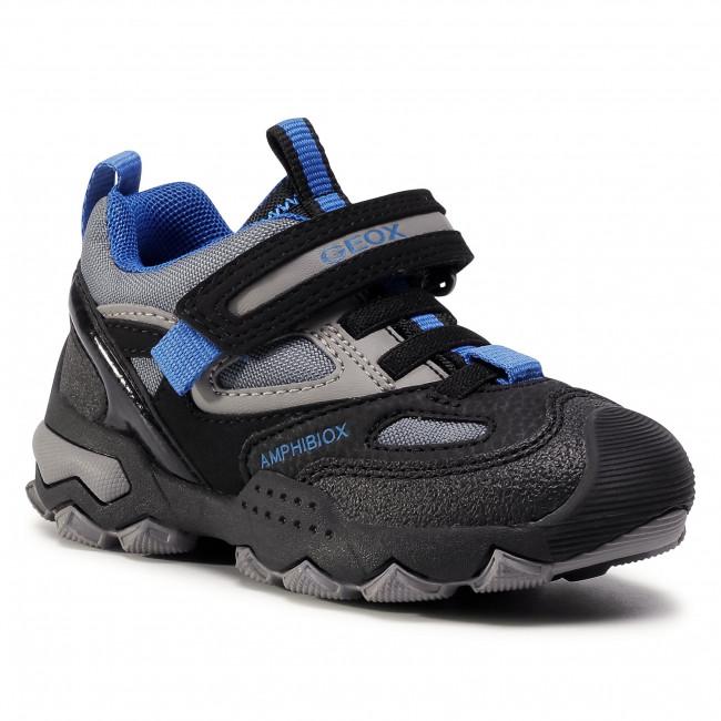 Sandals GEOX - J Buller B.B Abx A J049WA 0CEFU C0245 M Black/Royal