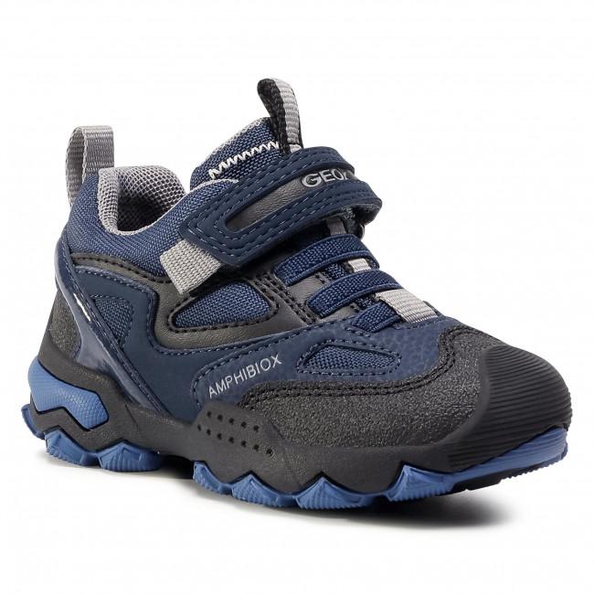 Shoes GEOX - J Buller B.B Abx A J049WA 0CEFU C0661 M Navy/Grey