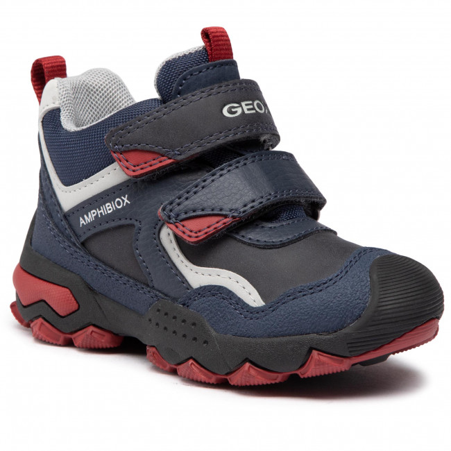 Boots GEOX - J Buller B.B Abx B J049WB 0ME50 C4244 M Navy/Dk Red
