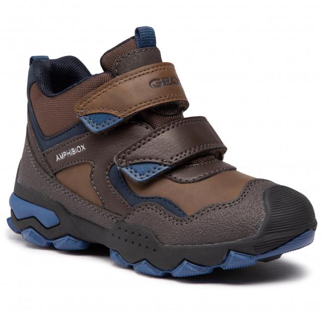 Boots GEOX - J Buller B.B Abx B J049WB 0ME50 C6402 S Brown/Avio