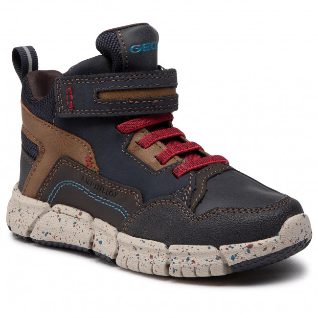 Boots GEOX - J Flexyper B Abx B J049XB 032ME C4244 S Navy/Dk Red