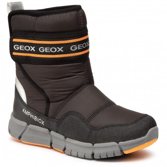 Snow Boots GEOX - J Flexyper B Abx C J049XC0FU50C0038 S Black/Orange