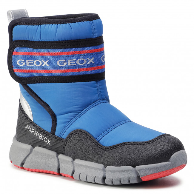 Snow Boots GEOX - J Flexyper B Abx C J049XC 0FU50 C0833 S Royal/Red