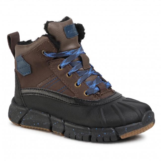 Snow Boots GEOX - J Flexyper B Abx D J049XD 0CL54 C6483 S Coffe/Royal
