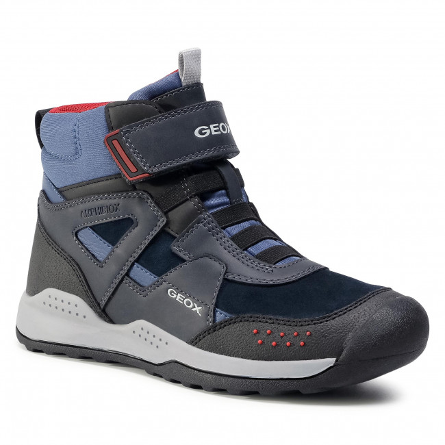 Snow Boots GEOX - J Teram B.B Abx B J04AEB 022ME C4244 D Navy/Dk Red