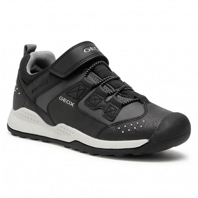 Trainers GEOX - J Teram B.B Abx C J04AEC 0ME15 C0005 D Black/Dk Grey