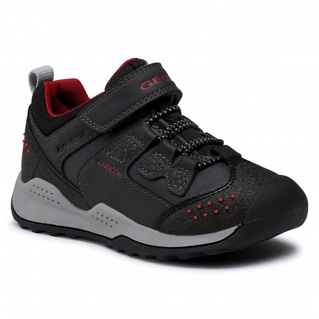 Trainers GEOX - J Teram B. B Abx C J04AEC 0ME15 C4244 S Navy/Dk Red