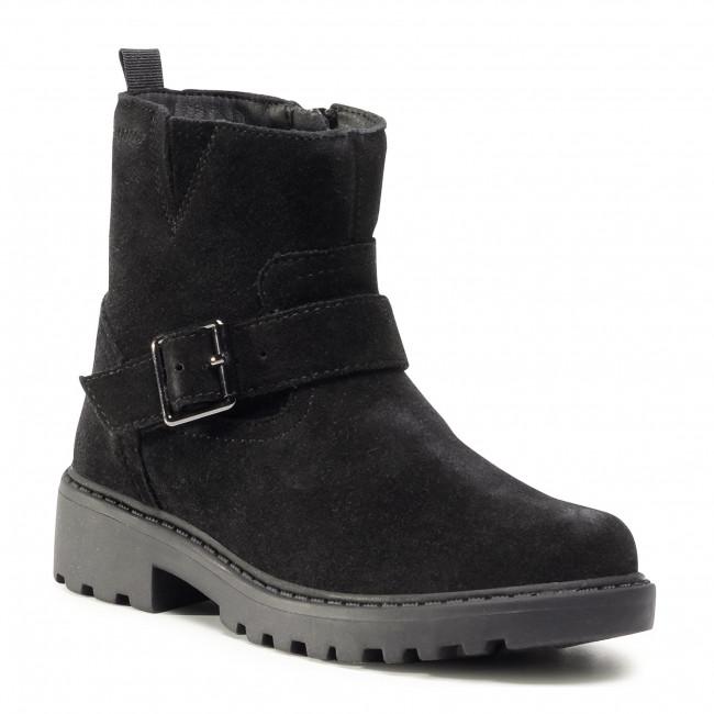 Knee High Boots GEOX - J Casey G.Wpf B J04AFB 00022 C9999 S Black
