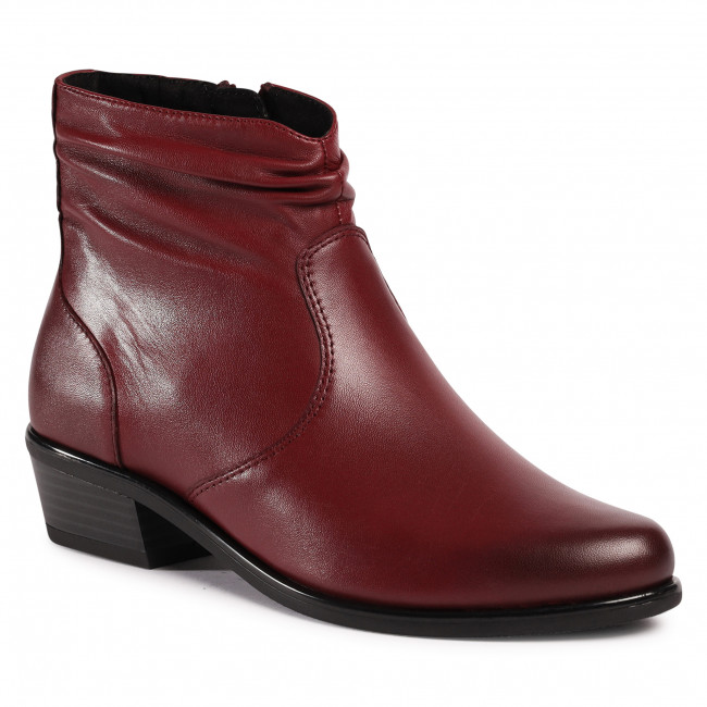 Ankle boots CAPRICE - 9-25303-25 Sangria Soft 548