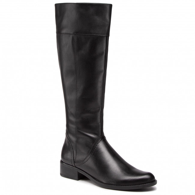 Knee High Boots CAPRICE - 9-25511-25 Black Nappa 022