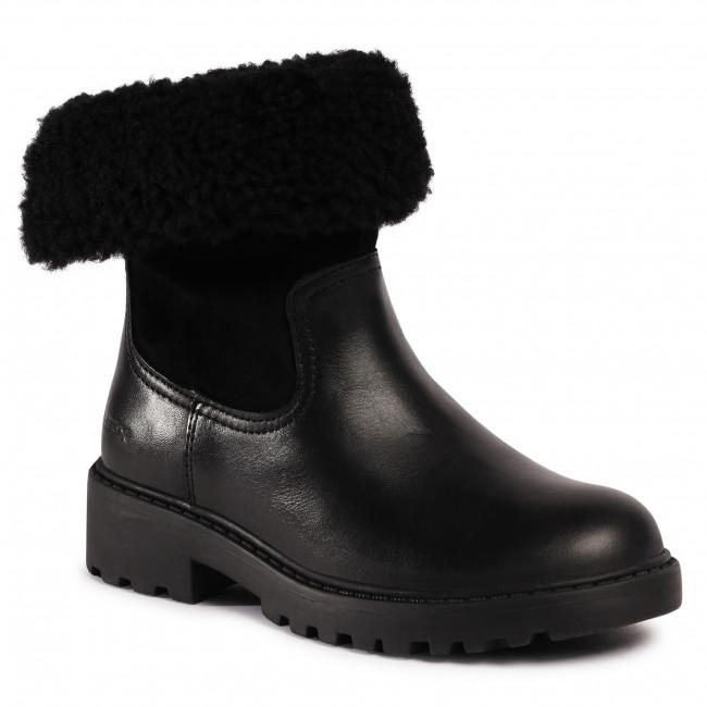 Knee High Boots GEOX - J Casey G. Wpf C J04AFC 04322 C9999 S Black