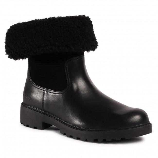 Knee High Boots GEOX - J Casey G. Wpf C J04AFC 04322 C9999 D Black