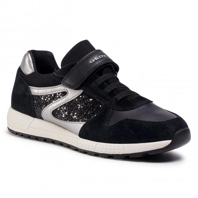 Trainers GEOX - J Alben G. A J04AQA 022EW C9999 D Black