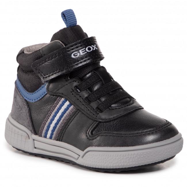 Boots GEOX - J Poseido B. B J04BCB 0CLBU C0052 M Black/Blue